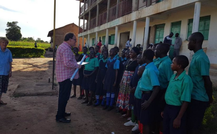 Trip Update Africa: Visiting our sister school & Ordination
